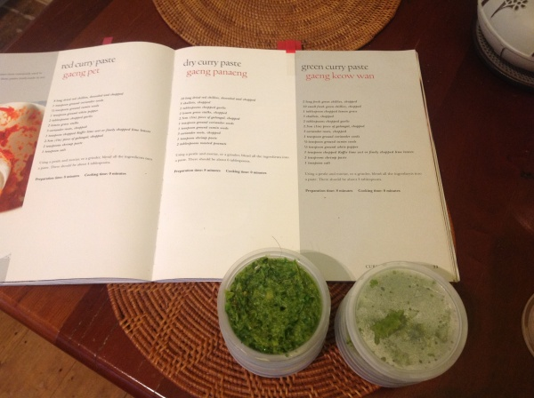 Vatcharin Bhumichitr's green curry paste recipe