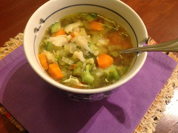 Light and Restoring Vegetable Broth