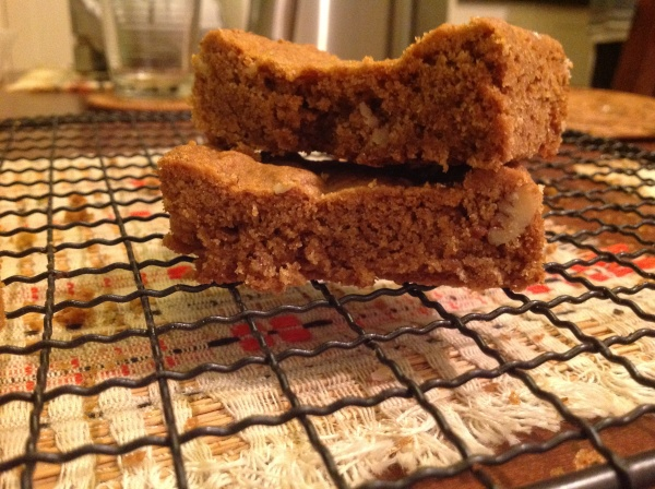 Maple Pecan Blondies 2.0 - we can thank Fettle Vegan for the original version that inspired these.