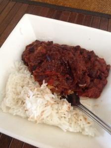 Un-Chilli with Basmati Rice